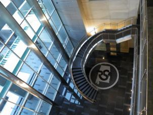 Bird's Eye View of Lobby