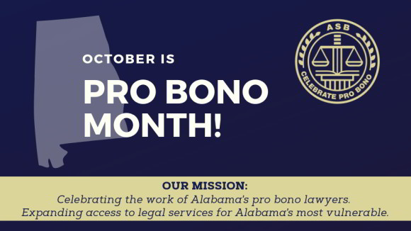 October Pro Bono Month 2019